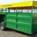 Puspriekabė, priekaba, gyvulių transportas, gyvulių vagonas,gyvulių pervežimo puspriekabė, kiaulių vežimo priekaba, karvių pervežimo priekaba, žemės ūkio priekaba, žemės ūkio puspriekabė, nauja puspriekabė gyvuliams vežti, agro priekaba
